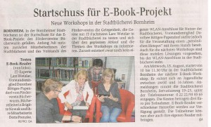 2014-07-26_General-Anzeiger_Bericht E-Book-Workshop