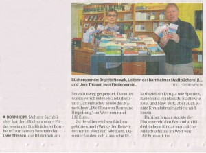2016-04-19_General-Anzeiger_Bericht Bücherspende