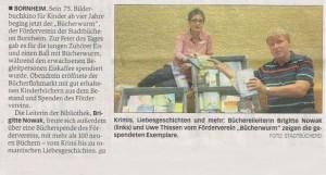 2017-07-15_General-Anzeiger_Bericht Bücherspende Sommerliteratur
