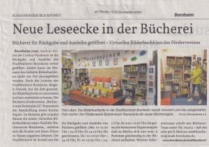 Presse-Bücherei neue Ausstattung