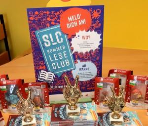Beim Sommerleseclub in der Stadtbücherei Bornheim gibt es coole Preise zu gewinnen